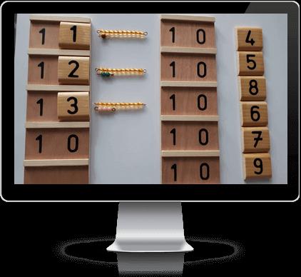 Montessori-Module-Numération-Niveau-2-Illustration